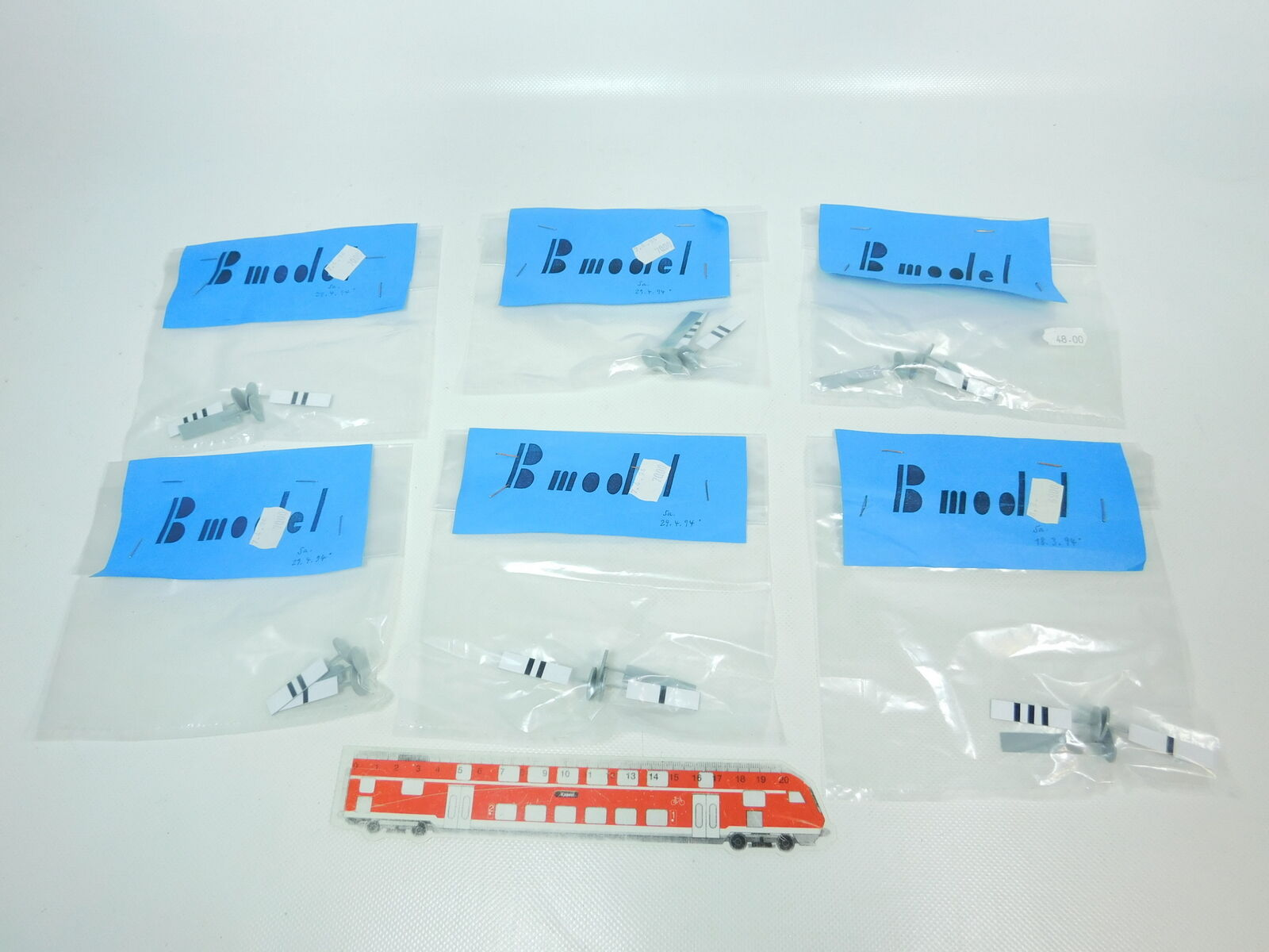BR265-0,5  6x B Model   Ets   Traccia 0 Pacco Warnbake / Leitbake, Nuovo + Ovp