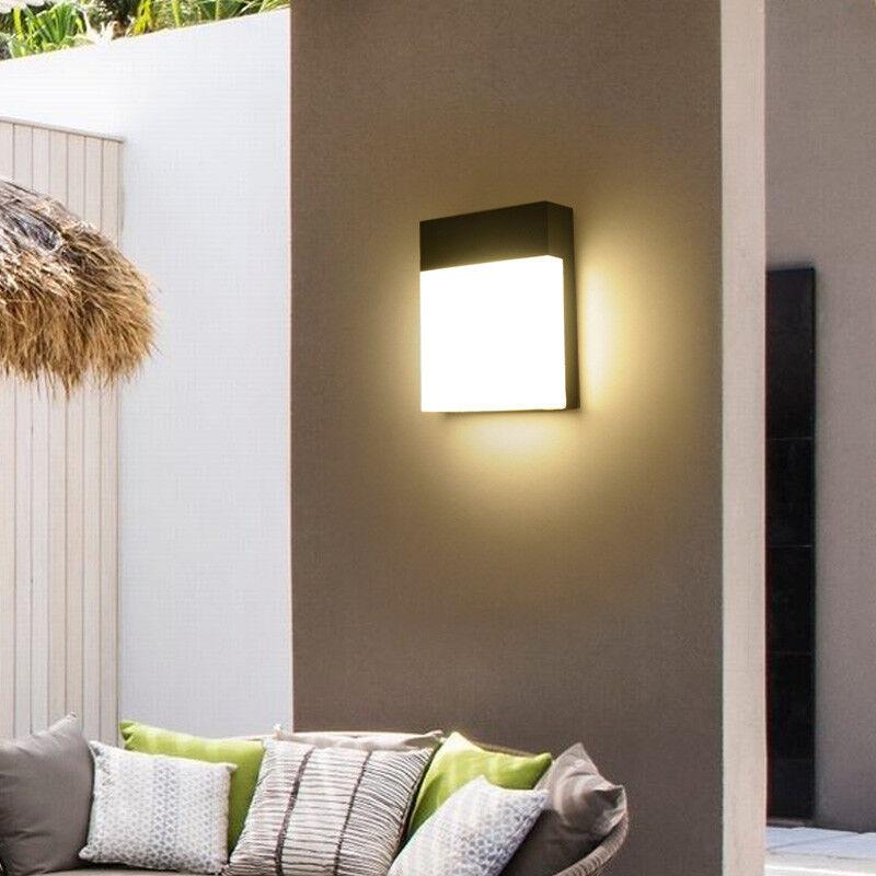 Lámpara al Aire Libre 18W LED Luz de Montaje en Parojo Accesorio De Acrílico Impermeable Puerta de balcón