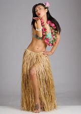 Falda de Hula paja hawaiano