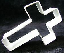 Nuevo Blanco Cruz Bautizo En Forma De Galleta Pastelería Cortador de Galletas religión Ah