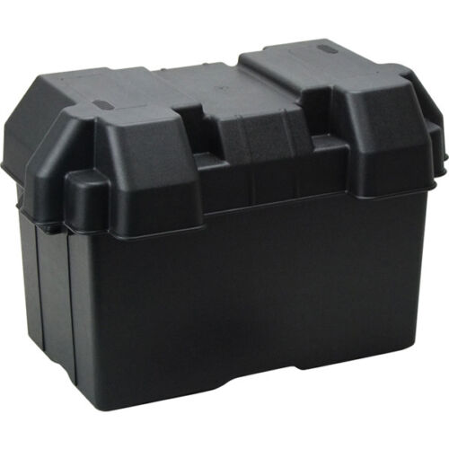 Universal Battery Box Large Size Boats Campers Caravan 4WD Strap /& Fastenings