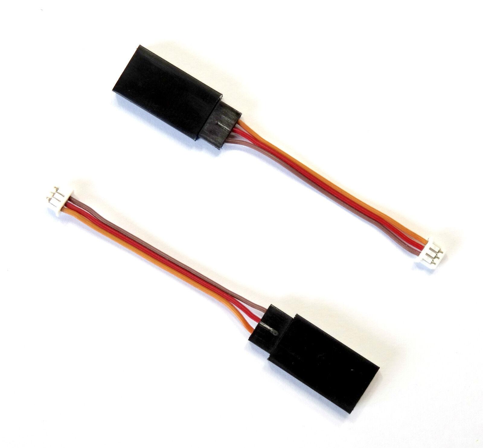 5x pieza Molex 1,25 conector de conector jr servokabel prórroga adaptador 4cm