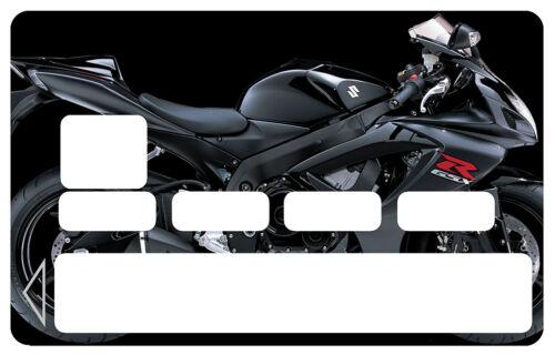 STICKER  MOTO CARTE BANCAIRE CREDIT CARD CB SKIN AUTOCOLLANT STICKER CC007