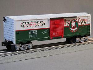 LIONEL-NORTH-POLE-CENTRAL-SANTA-039-S-HELPER-BOXCAR-train-holiday-NPC-6-82545-B-NEW