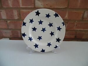 Emma-Bridgewater-Blue-Star-8-1-2-034-Plate-New