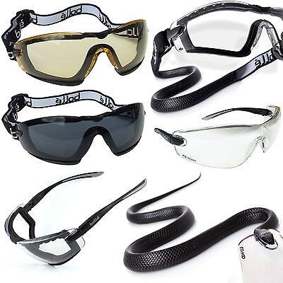 Bollé Safety COBRA glasses goggles Fliegerbrille Fallschirm Skydiving jet ski