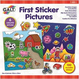 Galt-FIRST-STICKER-PICTURES-Kids-Activity-Toy-BN