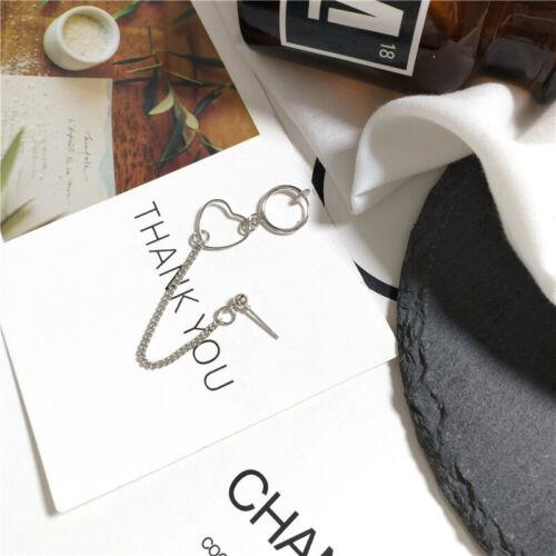 Boho Women Retro Silver Gold Ear Clip Stud Dangle Earrings Set Fashion Jewelry