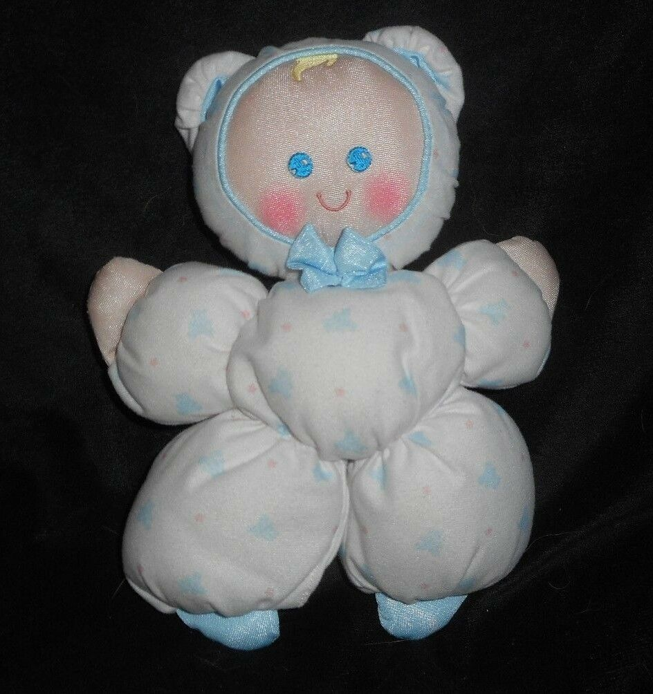 VINTAGE 1989 FISHER PRICE bianca  SLUMBER BABIES   1364 DOLL STUFFED ANIMAL PLUSH