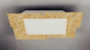 Applique moderno in vetro bianco e foglia oro coll gd a ebay