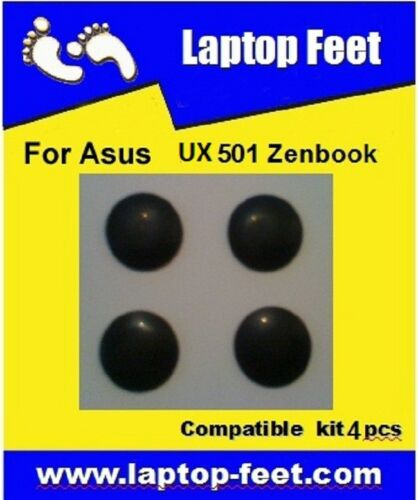 Laptop Feet for Asus UX501  ZENBOOK compatible kit 4 pcs self adhesive 3M