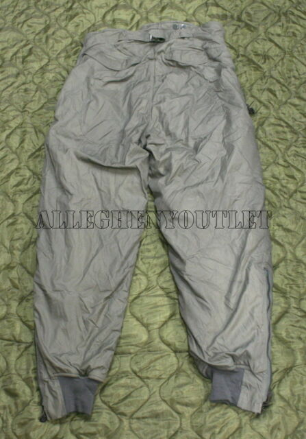 US Military F-1B COLD Weather NOMEX FLIGHT PANTS ECW SNOW Trousers MEDIUM 34 EXC