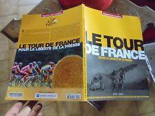 LE TOUR DE FRANCE Cycliste Ancien Vélo de Course Reporter sans frontière 2005
