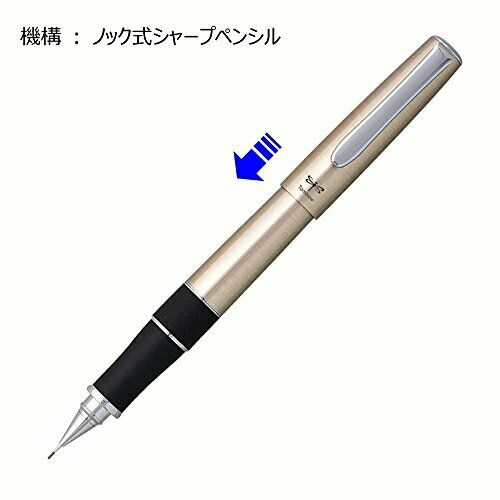 Tombow Zoom 505 Mechanical Pencil 0.5 mm Silver Hairline NEW