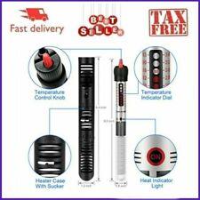 Aquarium Water Heater Submersible 100w 20 Gallon Fish Tank Warmer Thermostat USA