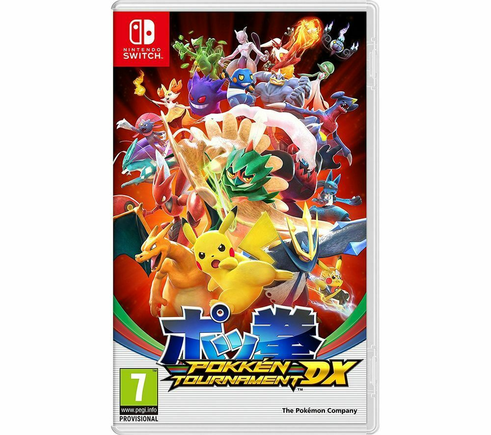 Pokken Tournament Dx Nintendo Switch Pokemon Pikachu Game Ages 7 For Sale Online Ebay