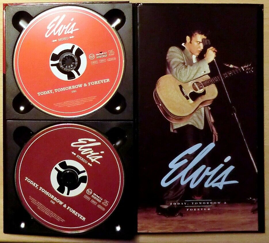 Elvis Presley: Today, Tomorrow and Forever - 4 cd box, rock