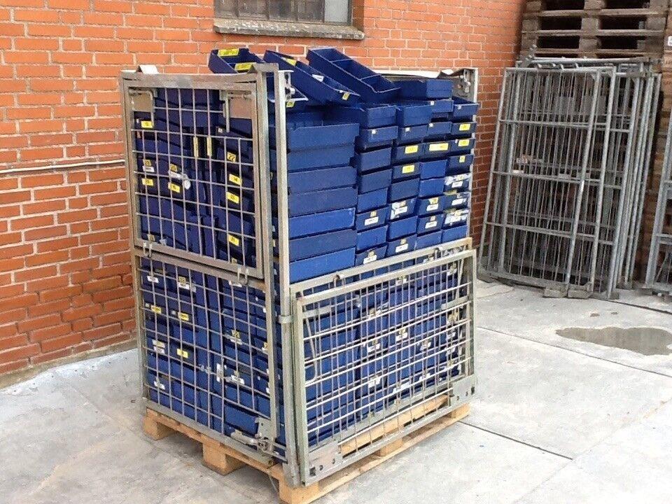 Lagerkasse / lagerskuffe L 400 x B 186 x H 85 mm