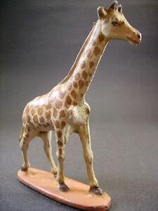 QUIRALU-Girafe-du-cirque-ou-d-039-afrique-arche-de-noe-antique-toys