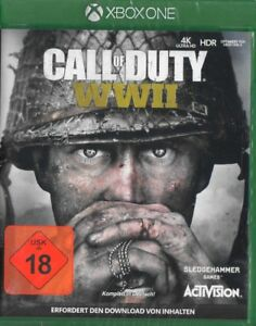 Call-of-Duty-ww2-WWII-Xbox-One-Activision-World-era-2-NUOVO-amp-OVP