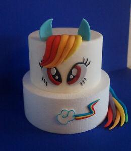 My Little Pony Einhorn Tortendeko Tortenaufleger Zuckerfigur Kuchen