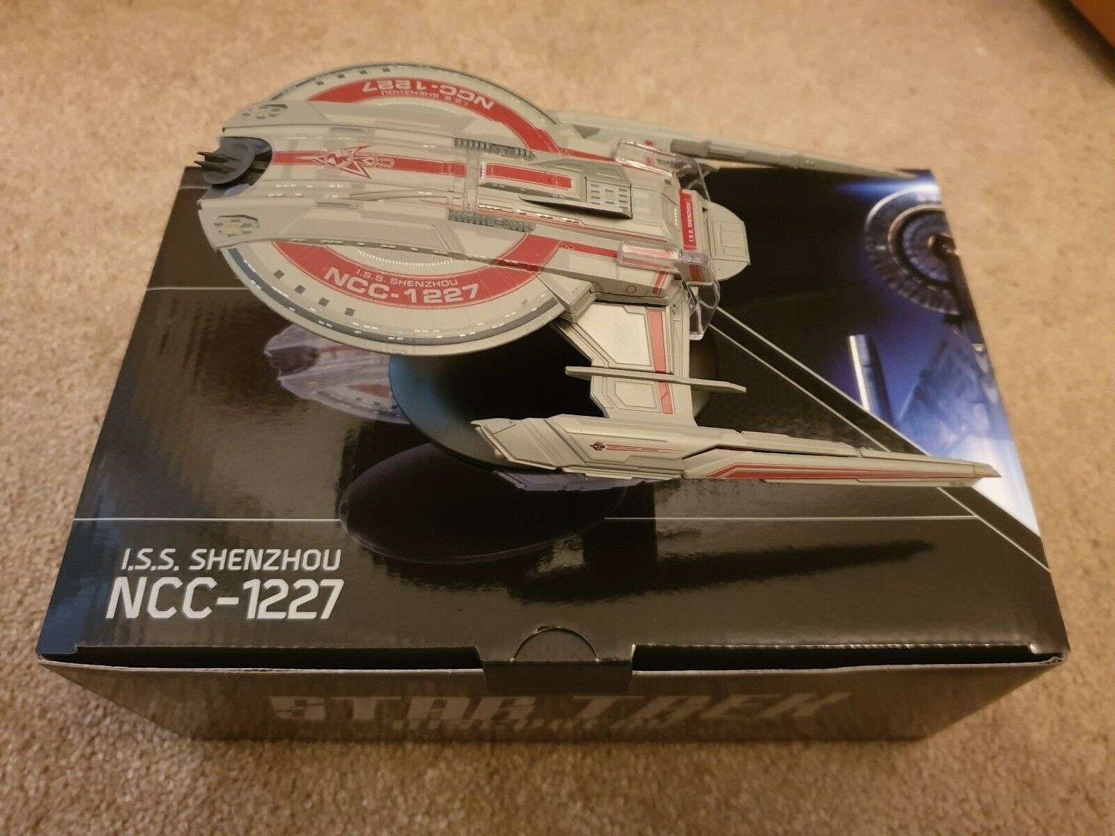 Eaglemoss Star Trek Discovery - Subscribers Gift - ISS Shenzhou (IN STOCK)