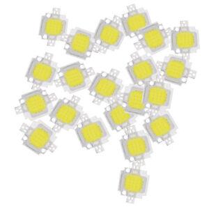 20pz-10W-LED-bianco-puro-ad-alta-potenza-1100LM-LED-SMD-lampada-del-circui-E7H8