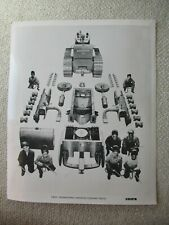 Ih International Crawler Tractor Disassembled Stock Photo 10x8