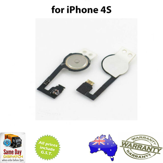 Home Button Flex Cable Ribbon - Replacement Repair Part for iPhone 4S