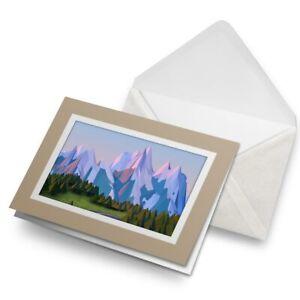 Greetings-Card-Biege-3D-Cartoon-Mountain-Road-Ski-21057