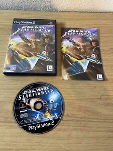 STAR-Wars-Starfighter-Sony-PlayStation-2-2001-Versione-Europea-Game
