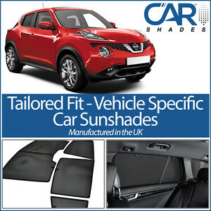 FITS Nissan Juke 5dr 2010+ CAR WINDOW PRIVACY SUN SHADE BABY SEAT ...