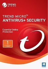 Trend Micro Antivirus+ Security 11 (2017) | 1 Year Licence | 1 PC