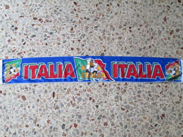 D15 Sciarpa Italia Football Federation Association Scarf Schal Bufanda Italy Fresco In Estate E Caldo In Inverno