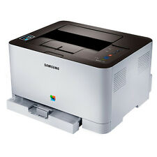 New Samsung Colour Laser Wireless Printer SL-C410W with NFC