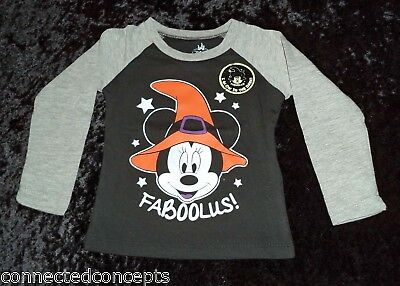 Minnie Mouse Halloween Faboolus T-Shirt 12 Months