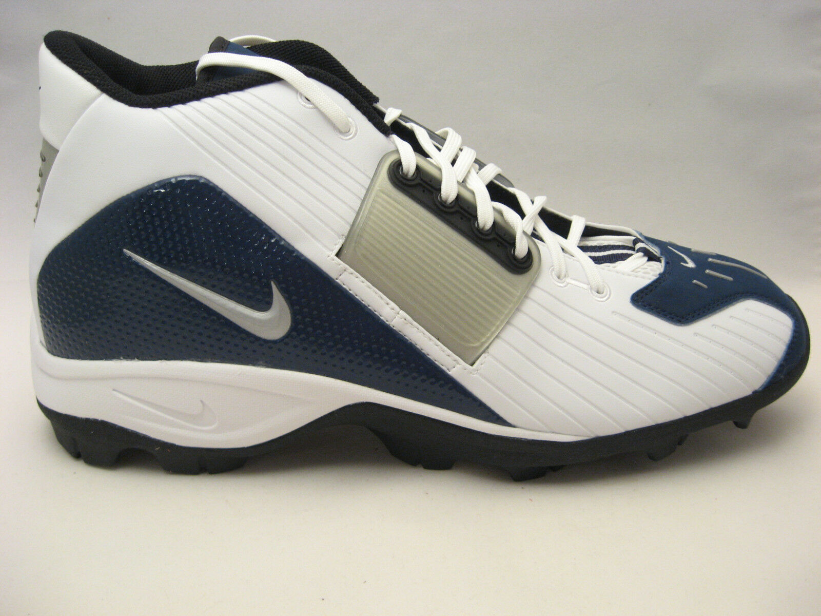 Nike air torque squalo territorio scarpe blu calcio calcio 15 bianco blu scarpe argento new 66bdae