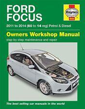 Ford Focus MK3 1.0 1.6 Petrol 1.6 Diesel 2011 - 2014 60 to 14 reg Haynes Manual