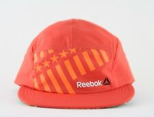 REEBOK SPEEDWICK CROSSFIT GYM 5 FIVE PANEL HAT CAP BNWOT OSFM ORANGE RUNNING