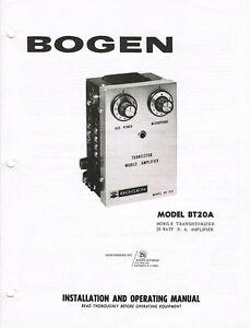 Bogen C60 Pdf