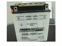 Battery Compatible With Interstate Yb12a-a 12v 12ah 165cca /acid Pack/sensor Ea.