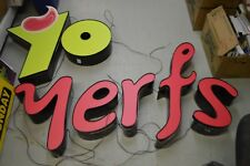 Led Channel Letters Back And Front Lit Weatherproof 7 Piece Set