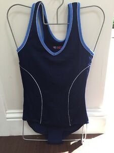 Ladies Boots Performance Body Shaping Swimming Costume Navy Size 10