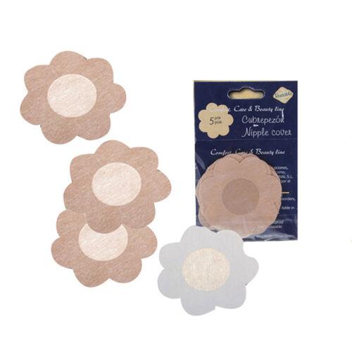 10//20pcs Flower Petal Adhesive Breast Nipple Cover Sticker Bra Pad Patch JDUK