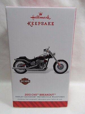 2014 Hallmark Keepsake Ornament 2013 CVO Breakout Harley Davidson #16 Loc B9