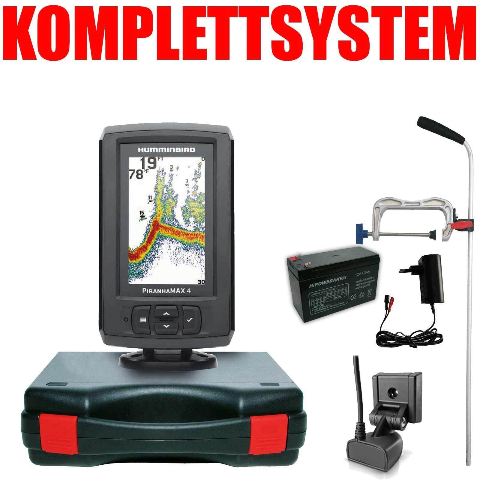 HUMMINBIRD sonda portátil Pro Edition sistema completo - 4 LCD