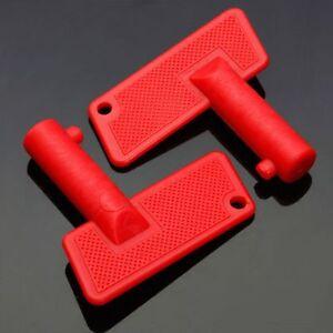 2tlg Schlüssel Ersatz Kit für Batterie Trennschalter Batterietrenner 100A 12V