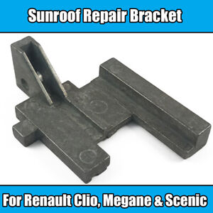 Details about 1x Sunroof Repair Brackets Guide Kit For Renault Clio Megane  Scenic Metal