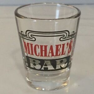 Details About Michael S Bar Personalized Shot Glass