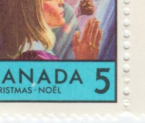 Error-Variety-PINK-BEARD-Unlisted-Canada-1969-502-MNH-ec141
